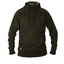 Fox - Chunk Dark Olive Quarter Zip Hoody