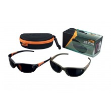 Fox - XT4 Sunglasses - Lens: Grey Frame: Black/Orange